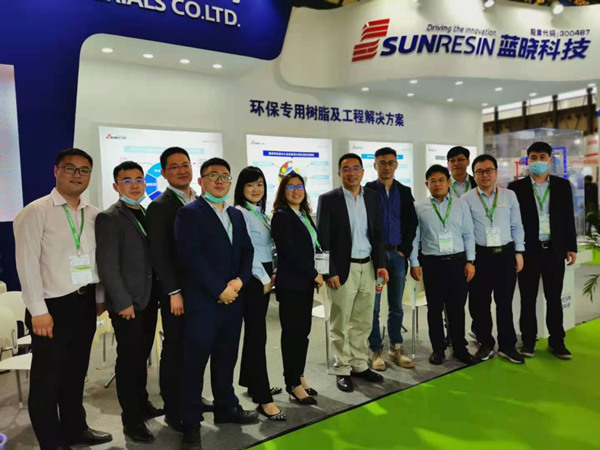 Tempo do Sunresin no IE Expo China 2021